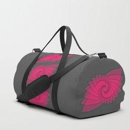 hypnotized - fluid geometrical eye shape Duffle Bag