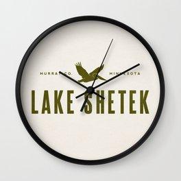 Lake Shetek Wall Clock