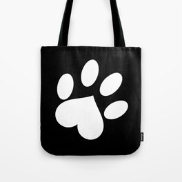 Paw love Tote Bag
