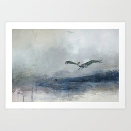 The Landing Art Print