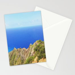 Koko Head Crater Rim And Blue Ocean Stationery Cards