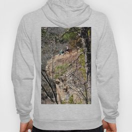 Climbing Up Sparrowhawk Mountain above the Illinois River, No. 4 of 8 Hoody