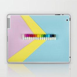 Happy little rainbow pills Laptop & iPad Skin