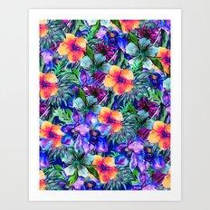 My Tropical Garden 9 Art Print