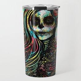 Vivid Muerte Travel Mug