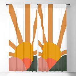 Landscape Horizon Blackout Curtain