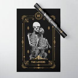 The Lovers VI Tarot Card Wrapping Paper