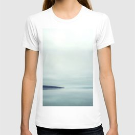Blurred blue lines T-shirt