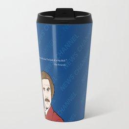 Ron Burgundy Anchorman  Travel Mug