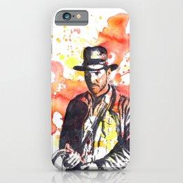 Indiana Jones iPhone Case