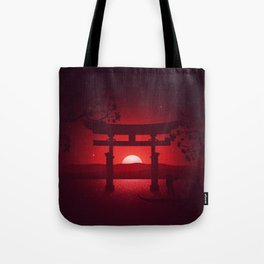 Itsukushima Shrine Tote Bag