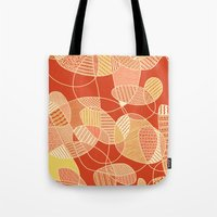 tangled Tote Bags featuring Tangled by Anita Ivancenko