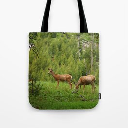 Wapiti In Yellowstone N P Tote Bag