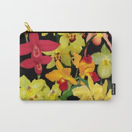 Orchids - Hot Colors! Carry-All Pouch