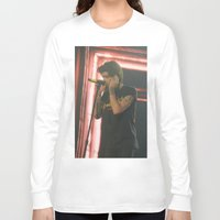 zayn malik Long Sleeve T-shirts featuring Zayn Malik by Halle