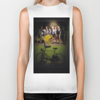 tour de france Biker Tanks featuring tour de france by Emanuele Reina