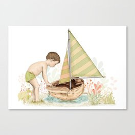 Sail away Canvas Print