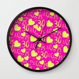 Spring Tnns Wall Clock