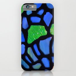 Stained Glass Detail iPhone Case