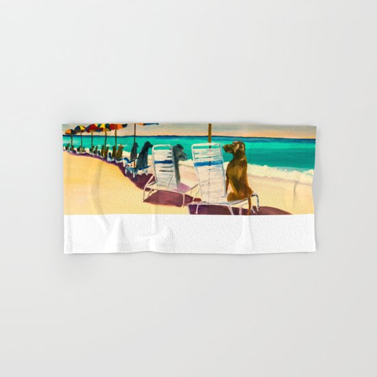 Beach Day Hand & Bath Towel