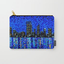 Perth Evening Blues Carry-All Pouch