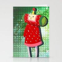 katamari Stationery Cards featuring Katamari Cousins - Ichigo by cakeisforrobots