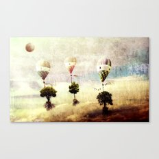 tree - air baloon Canvas Print