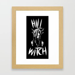 The Hill Witch Framed Art Print