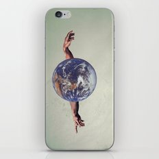 the world holds no limits  iPhone Skin
