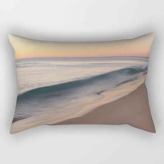 smooth waves Rectangular Pillow