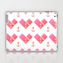 Florida Scarf Anchor Pattern Laptop & iPad Skin