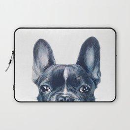 Hand painting French Bulldog Dog illustration original painting print Laptop Sleeve