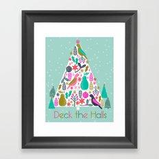 Christmas Tree by Andrea Lauren  Framed Art Print