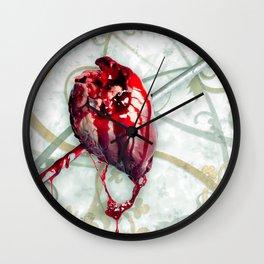 Deer To My Heart Wall Clock