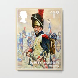 French Imperial Guard Grenadier Metal Print
