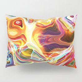 Abstract Glow Pillow Sham