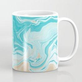 Marble Beach Coffee Mug