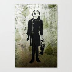 Virus Girl Canvas Print