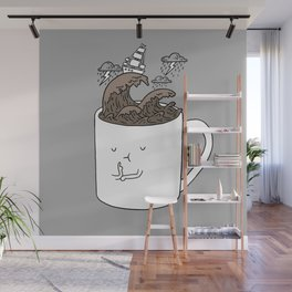 Brainstorming Coffee Mug Wall Mural
