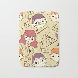 Harry Pattern Bath Mat