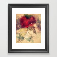 I just want to get your eyes right Framed Art Print