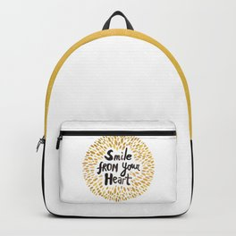 Smile From Your Heart Backpack