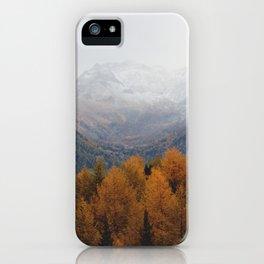 Autumn Air iPhone Case