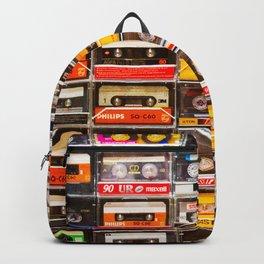 Something Nostalgic V - Music - Global Language #decor #society6 #buyart Backpack