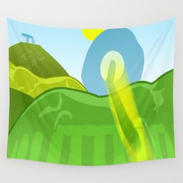 HORSE HILLS Wall Tapestry