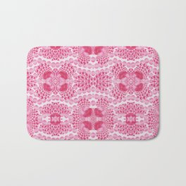 pink jewels Bath Mat