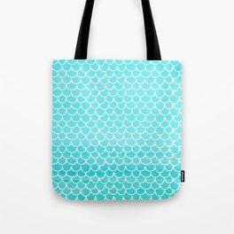 Let´s be mermaids- Aqua Mermaidscales - into the Sea Tote Bag