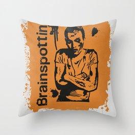 Brainspotting Throw Pillow
