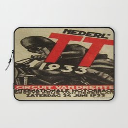 Vintage poster - Dutch Motorcycles Laptop Sleeve