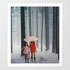 lost girls Art Print